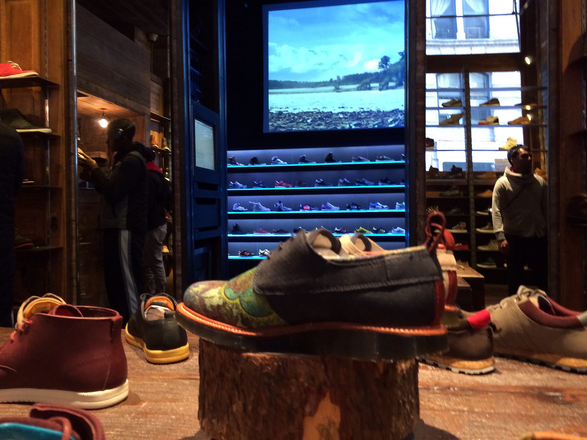Men's shoes at Kith in New York. Photo by alphacityguides.