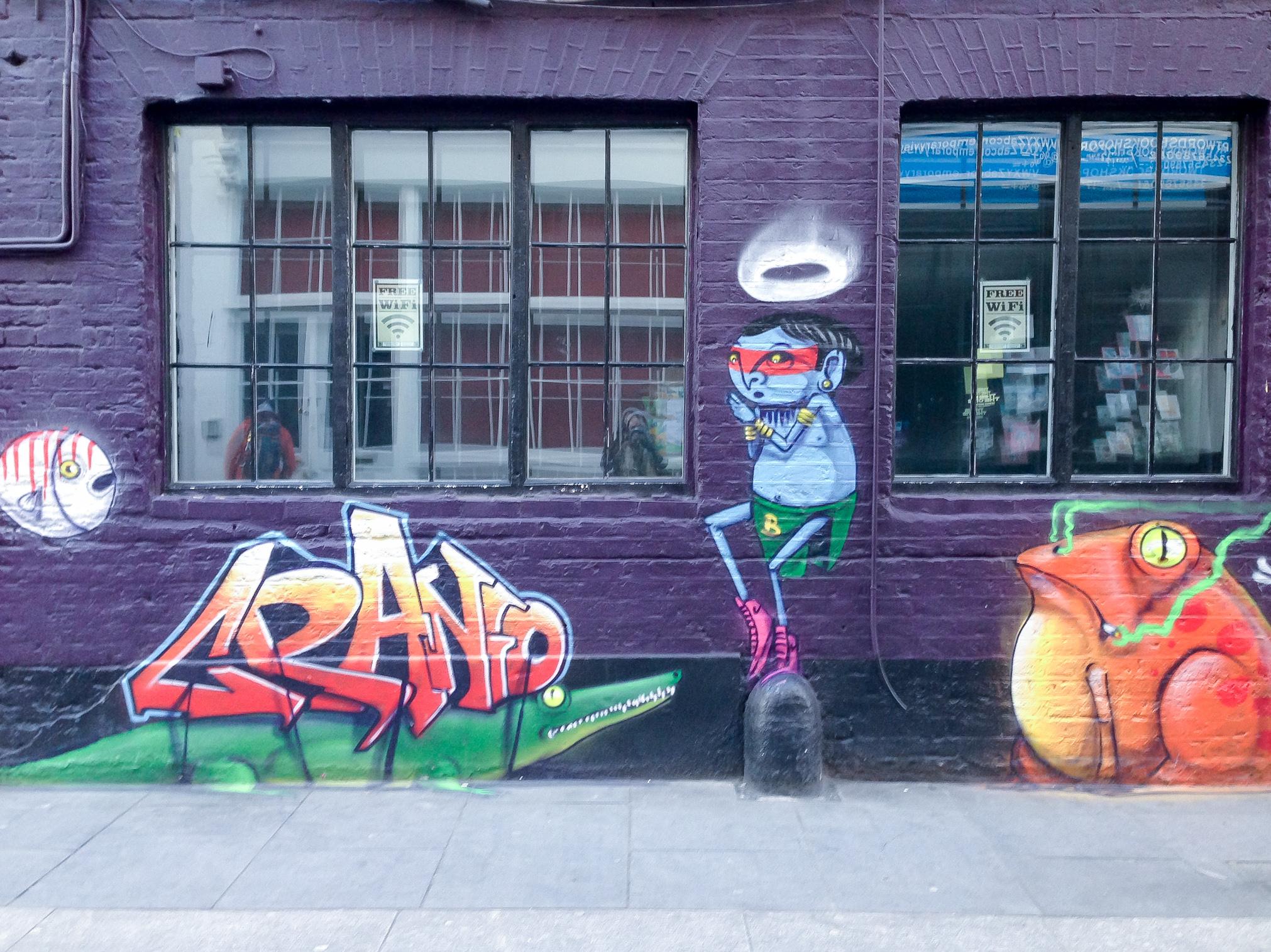 A Cranio mural in London.