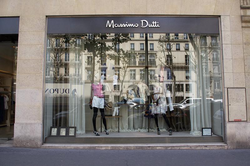 Massimo Dutti New York Store Store Front at Massimo Dutti