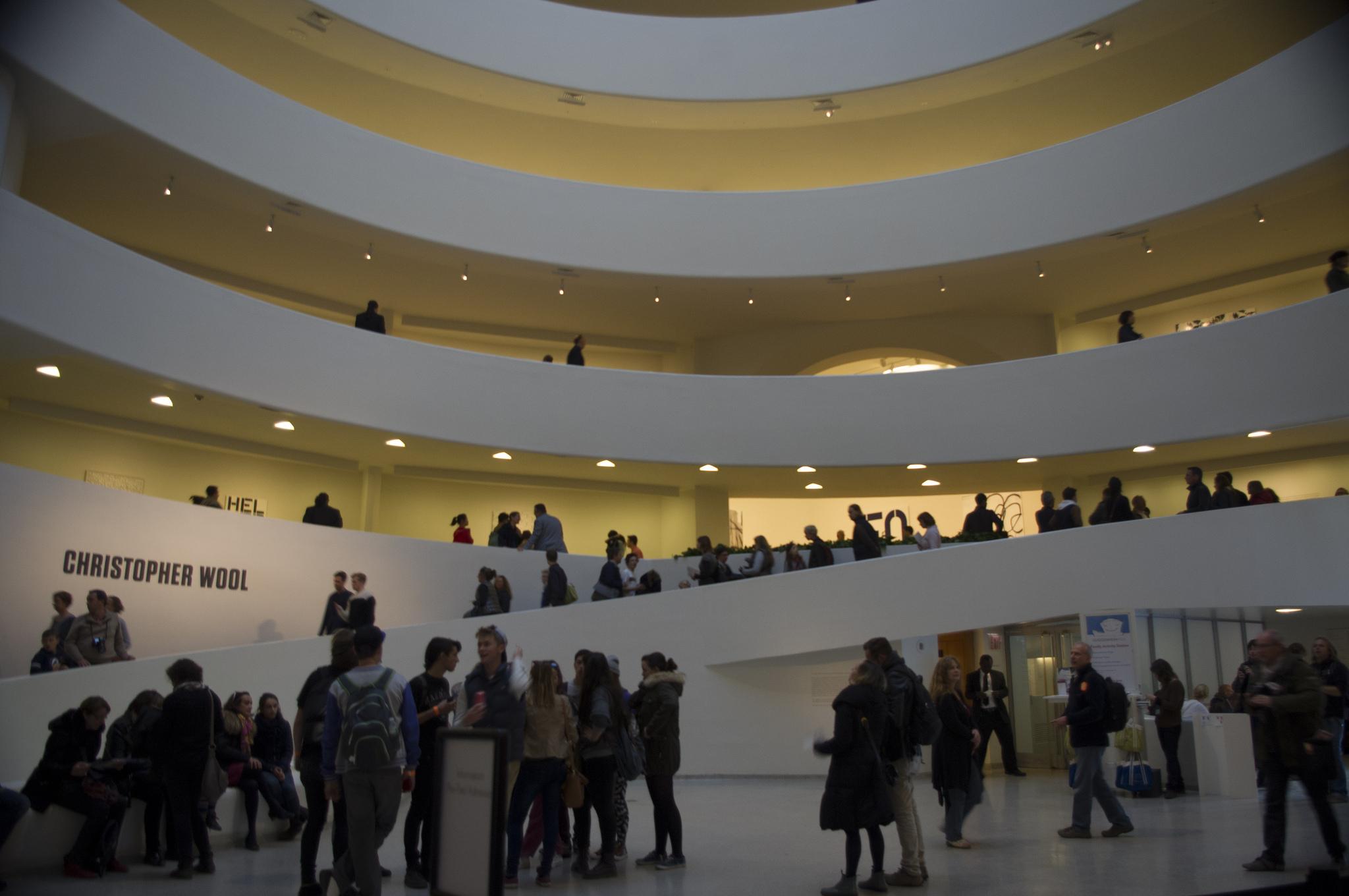Guggenheim Museum in New York.