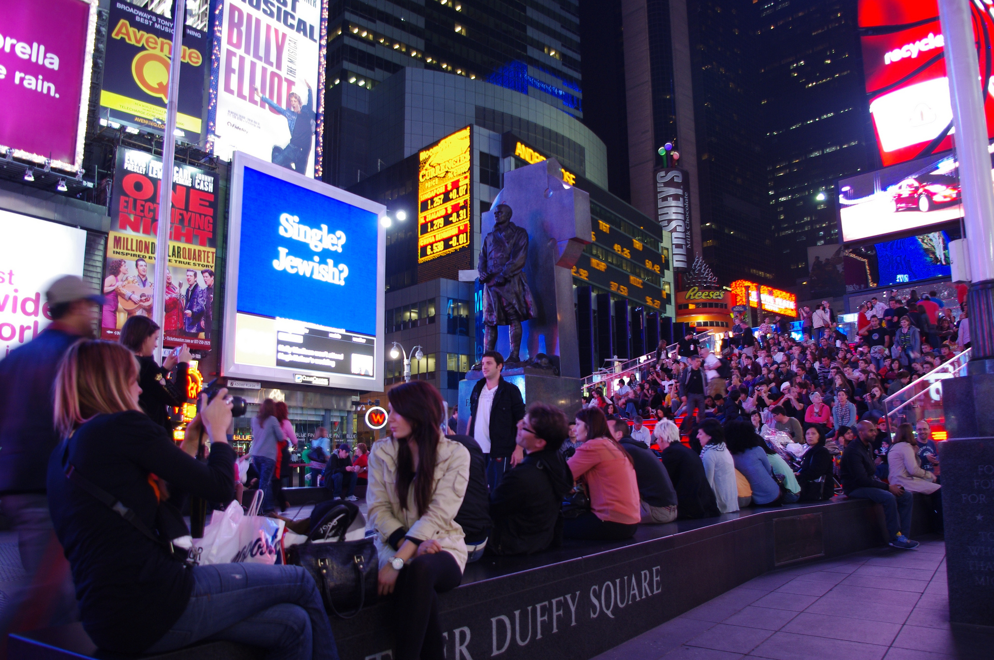 Time Square in New York.