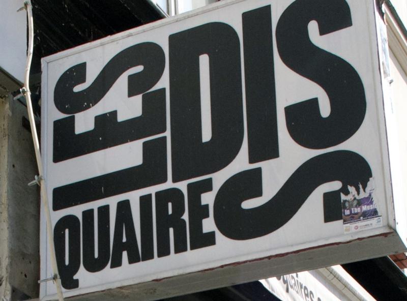 Les Disquaires in Paris. Photo by alphacityguides.