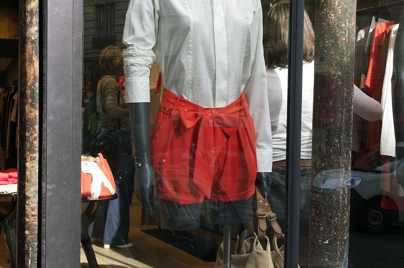 Fashion at Les Petites in Paris. Photo by alphacityguides.