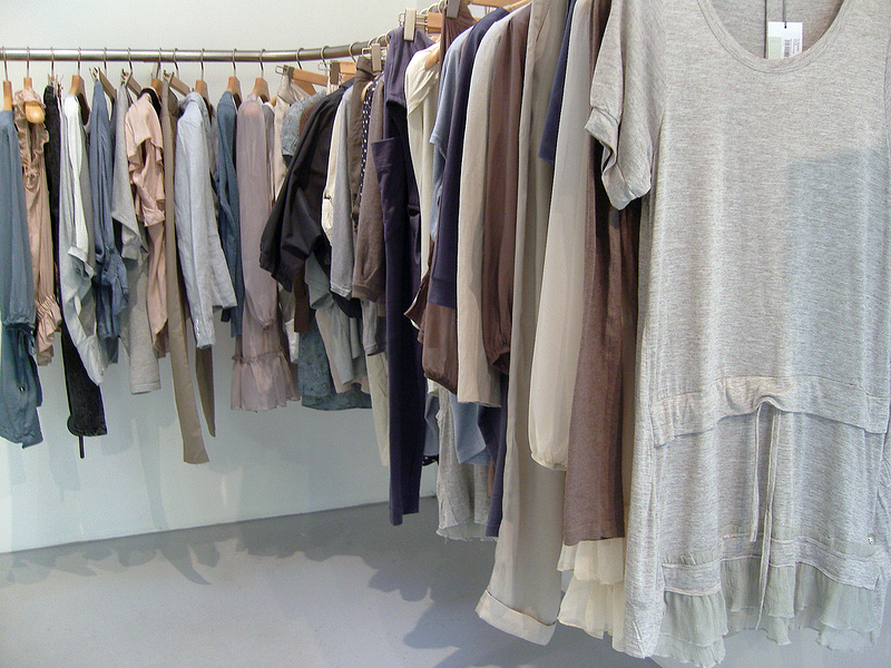 Fashion display inside Oxyde in Paris. Photo by alphacityguides.