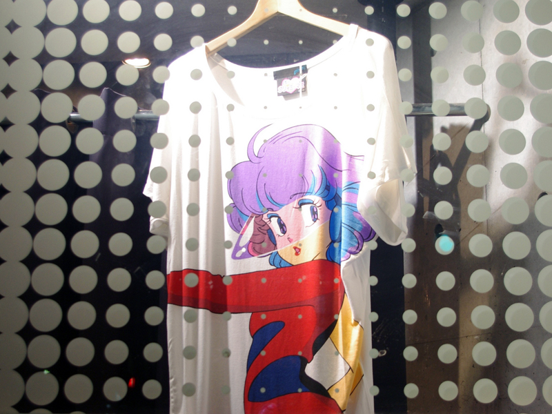 T-shirt at Galaxxy in Tokyo. Photo by alphacityguides.