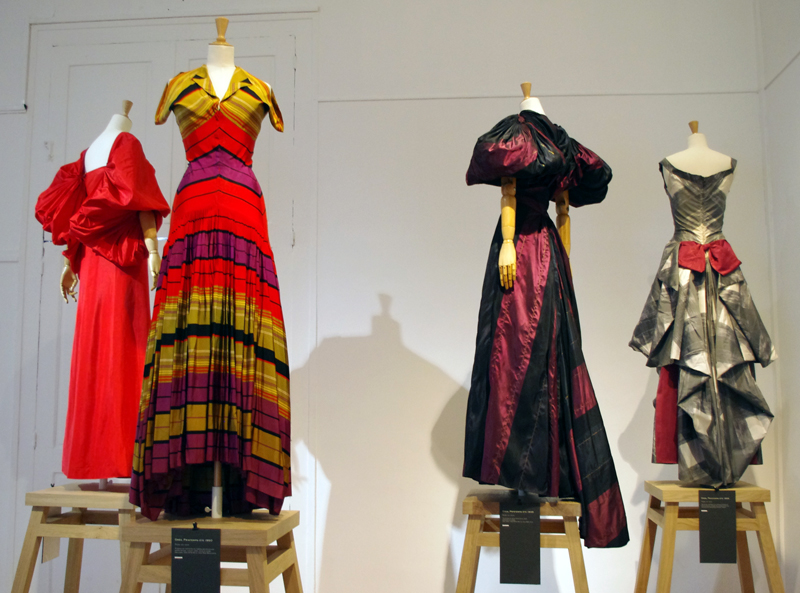 Musee Bourdelle's collection of historic dresses.
