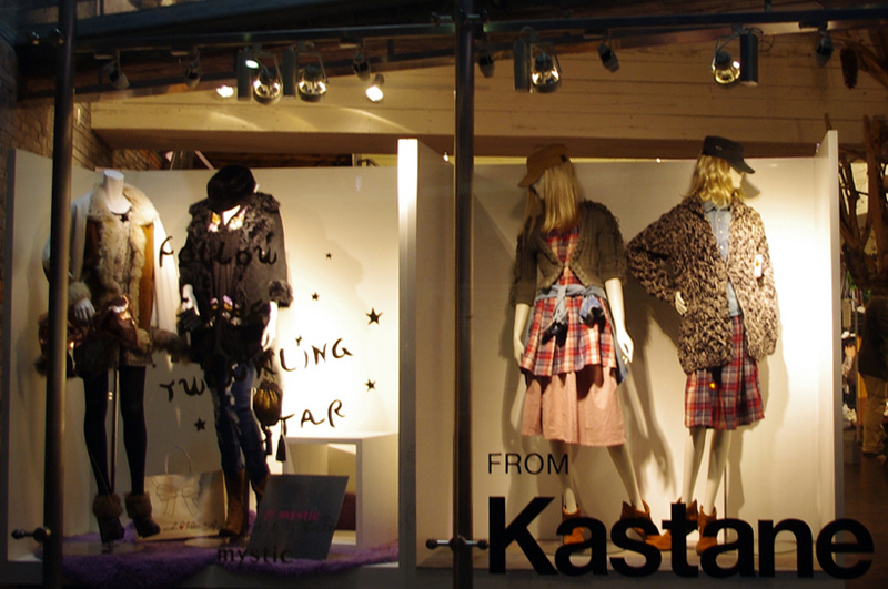 Window display at Kastane in Tokyo. Photo by alphacityguides.