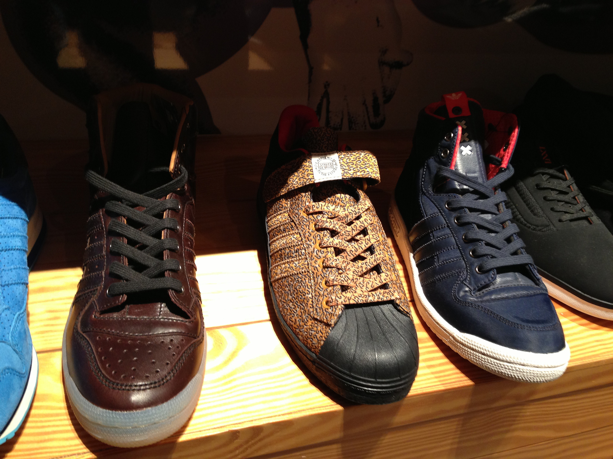 Limited edition sneakers at Undefeated in Tokyo. Photo by alphacityguides.