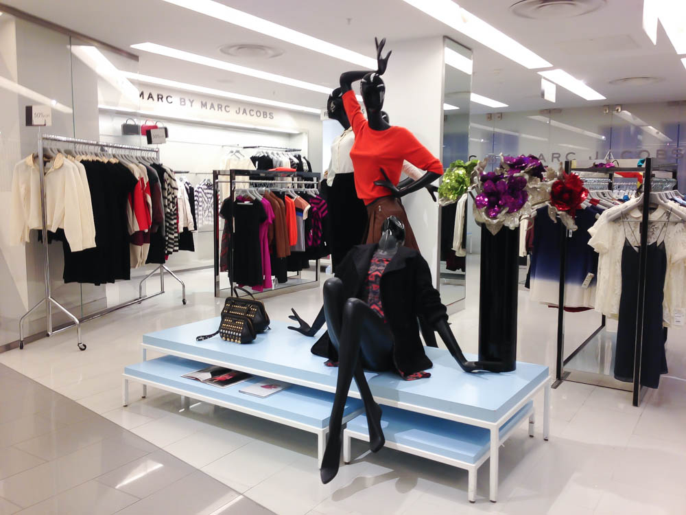 Marc by Marc Jacobs display at Harvey Nichols in London. Photo by alphacityguides.