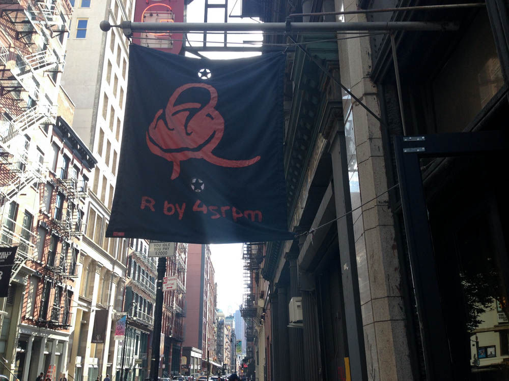 R by 45rpm in New York. Photo by alphacityguides.