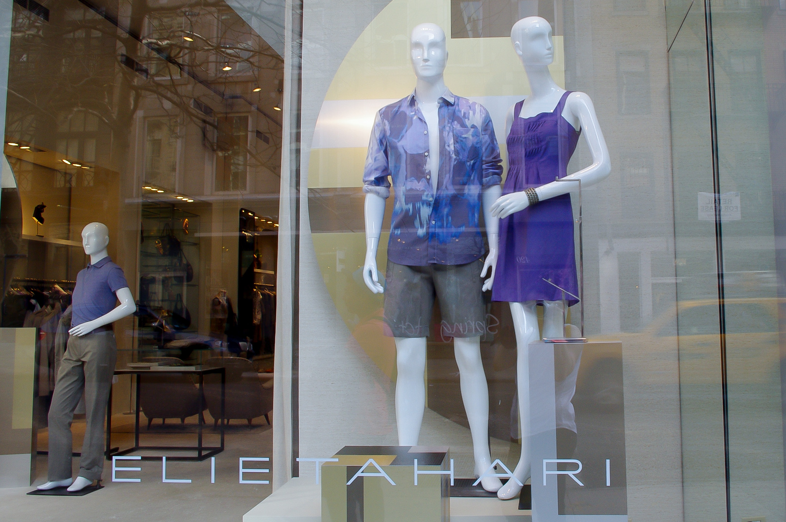 Fashion at Elie Tahari in New York. Photo by alphacityguides.