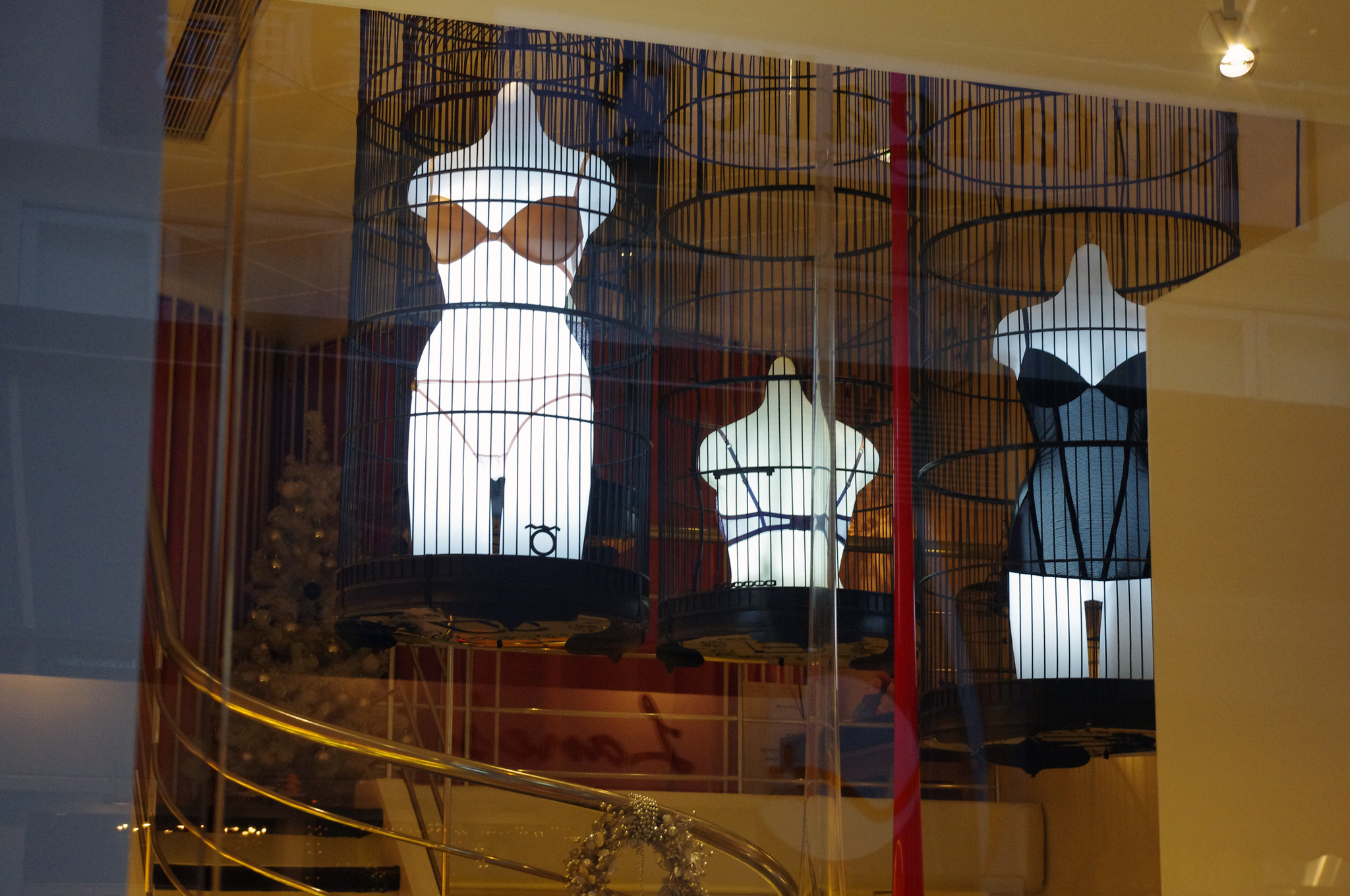 Lingerie display at Bubies in Hong Kong. Photo by alphacityguides.
