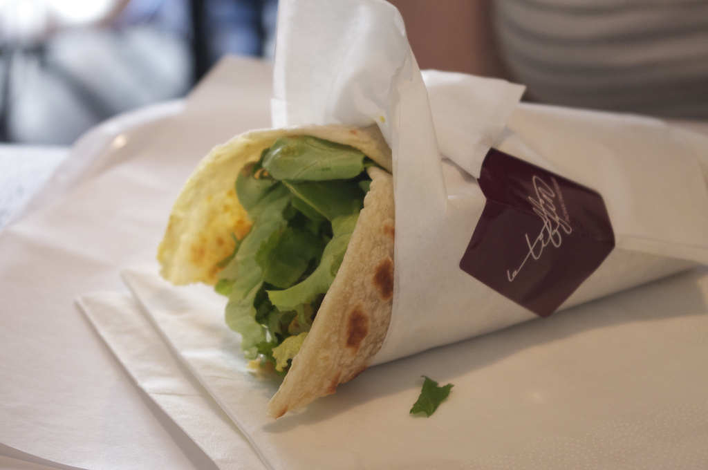 Kati roll from Le Tiffin in Paris. Photo by alphacityguides.