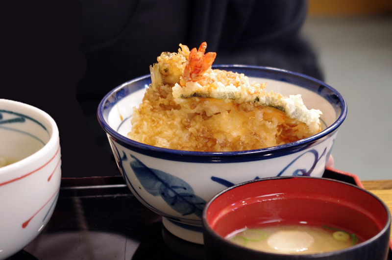 Meal at Yoshinoya in Tokyo. Photo by alphacityguides.