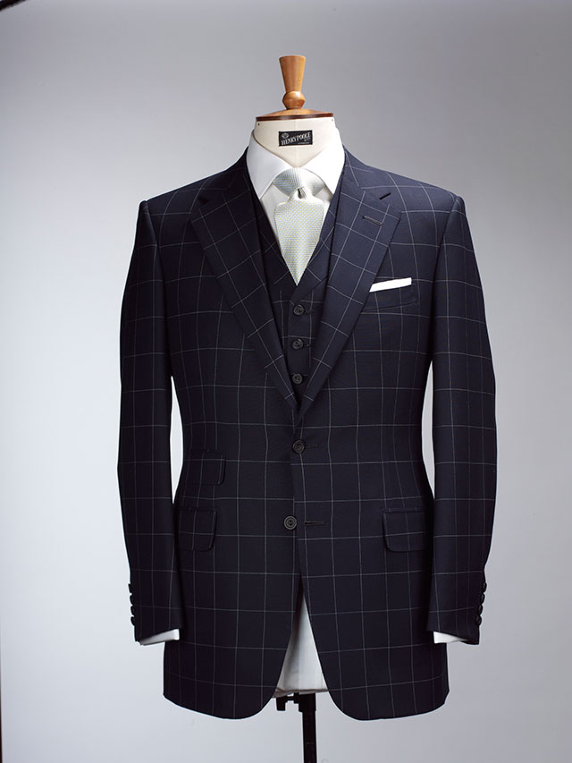 Bespoke suit at Henry & Poole