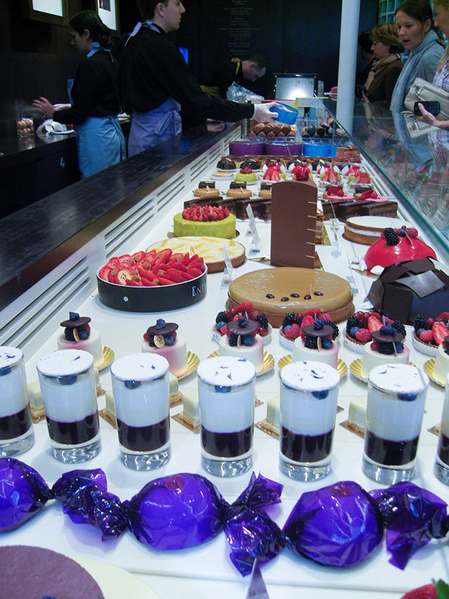 Pierre Herme pastries in Paris.