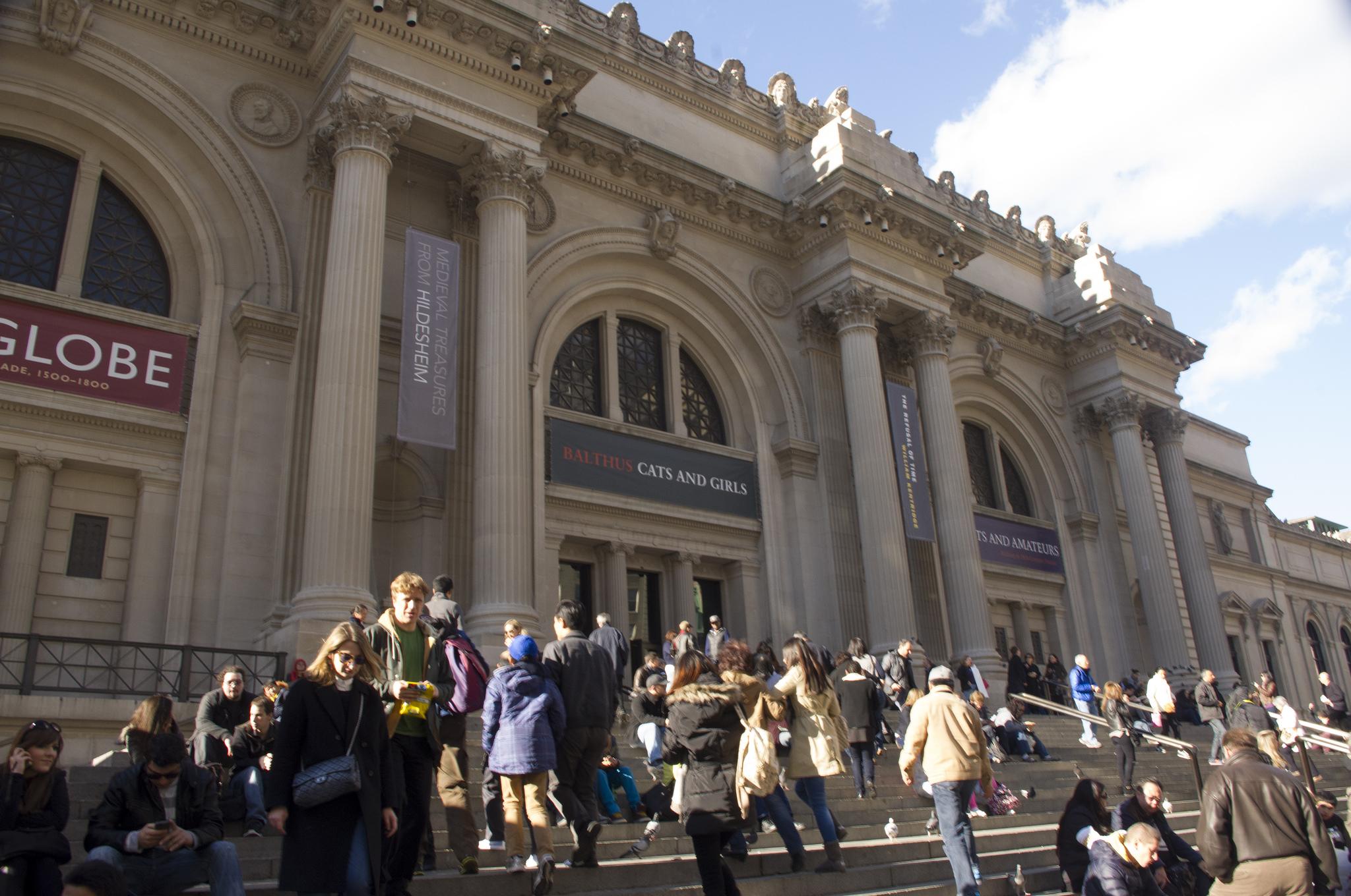 Metropolitan Museum of Art in New York. Photo by alphacityguides.