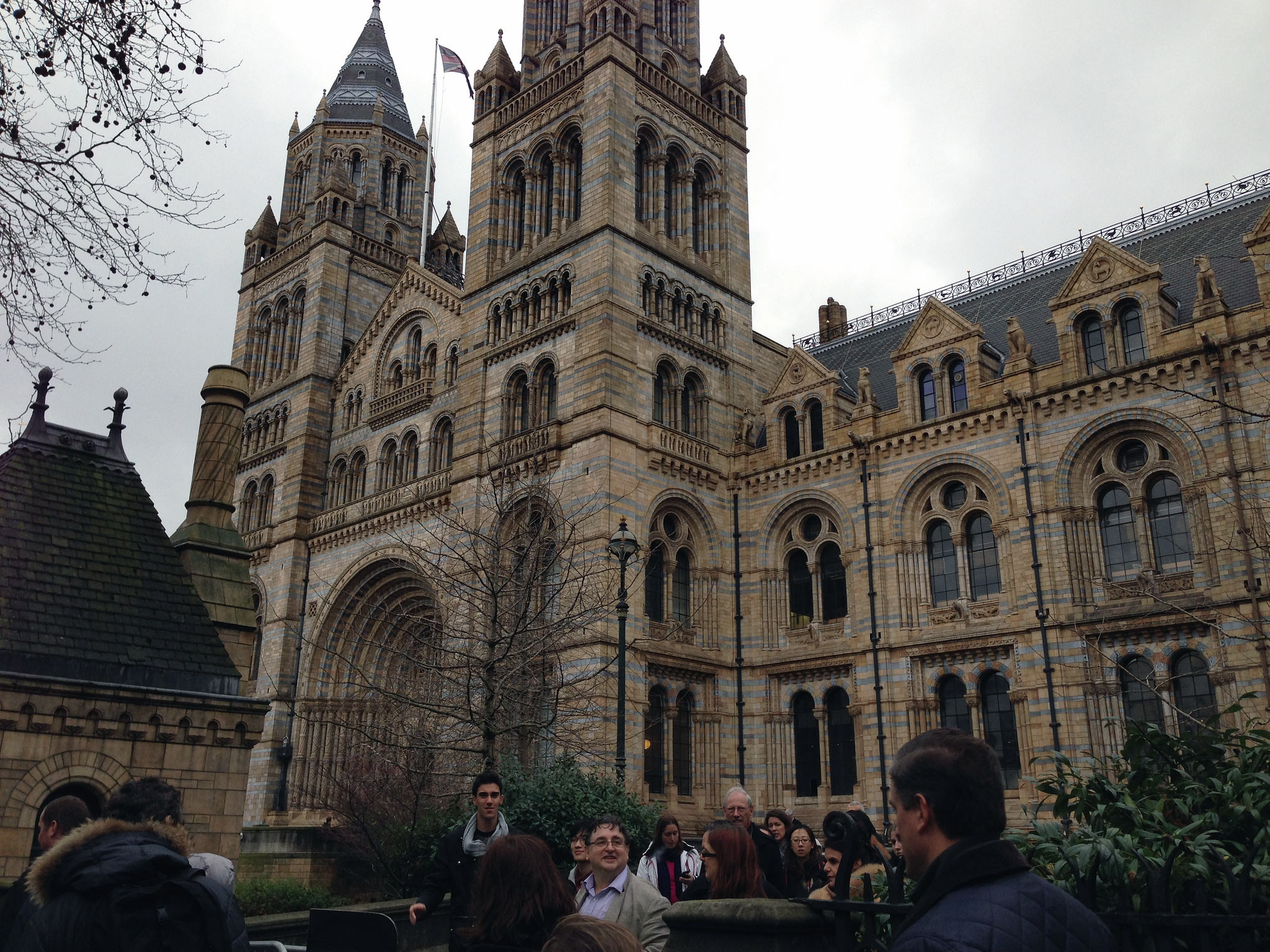 Natural History Museum in London. Photo by alphacityguides.