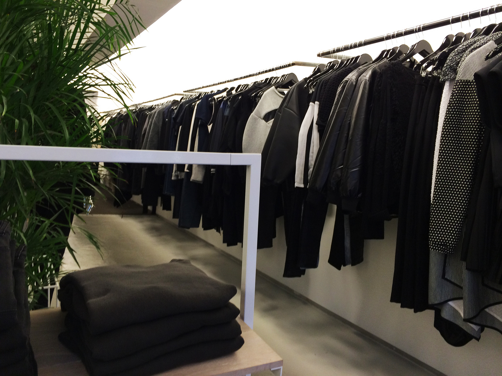 Womenswear at Oak in New York. Photo by alphacityguides.