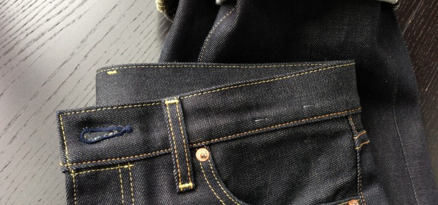 Japanese selvage denim jeans