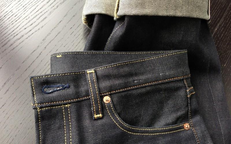 Japanese selvage denim jeans
