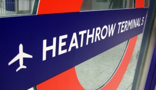 "Heathrow Airport Subway. Photo by <a href=""http://www.flickr.com/photos/jamescridland/"">James Cridland</a>"