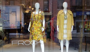 Store front at Frock NYC. Photo by alphacityguides.