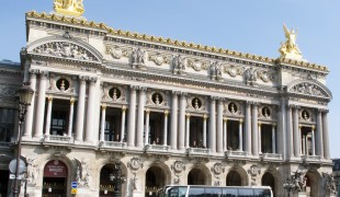 Outside of Opéra National de Paris. Photo by alphacityguides.