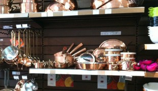 Cooking supplies inside Mora in Paris. Photo by alphacityguides.