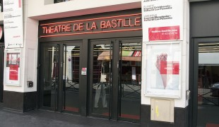 Theatre de la Bastille in Paris. Photo by alphacityguides.
