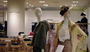 Fashion at Mitsukoshi in Tokyo. Photo by alphacityguides.