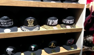 New Era hats at Onspotz in Tokyo. Photo by alphacityguides.