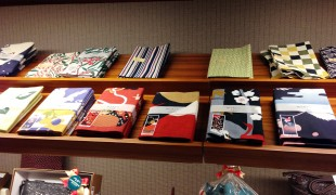 Japanese prints at the Matsuya department store in Tokyo. Photo by alphacityguides.