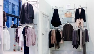 Fashion display at Twenty8Twelve in London. Photo by alphacityguides.