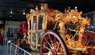 Lord Mayor's Coach at the Museum of London. Photo by alphacityguides.