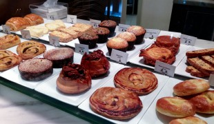 Pasty display case at Bouchon Bakery in New York. Photo by alphacityguides.