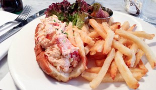 Lobster Rolls at Ed's Lobster in New York. Photo by alphacityguides.