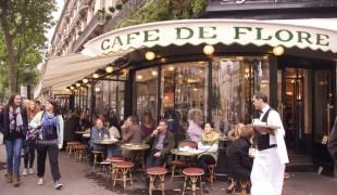 Café de Flore in Paris. Photo by alphacityguides.