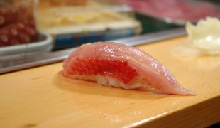 O-Toro at Sushi Dai in Tokyo. Photo by alphacityguides.