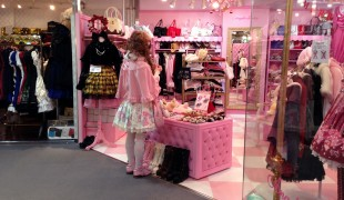 Angelic Pretty at Laforet in Tokyo. Photo by alphacityguides.