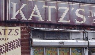 Katz's exterior. Photo by alphacityguides.