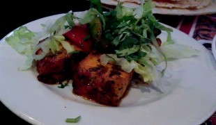 Paneer Tikka at Tayyabs in London. Photo by alphacityguides.