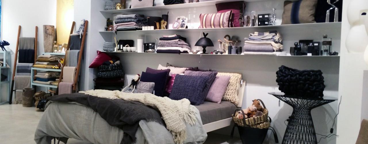 Bedroom pieces at Cristina Dos Santos in New York. Photo by alphacityguides.
