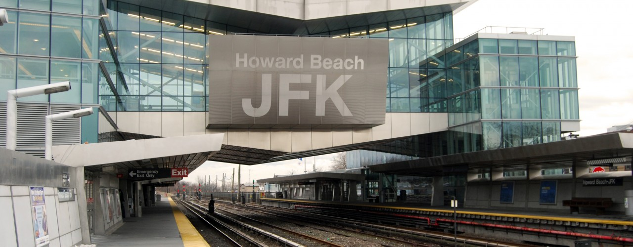 """JFK Airport Subway Connection. Photo by <a href=""""http://www.flickr.com/photos/paul_lowry/"""">Paul Lowry</a>"""