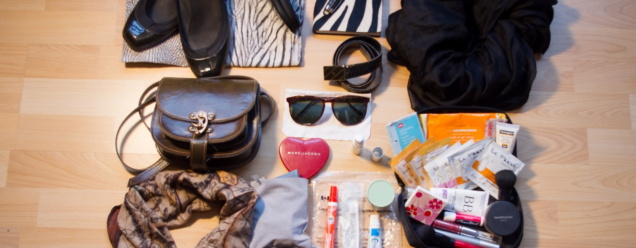 Packing tips for travel minimalists. Photo by alphacityguides