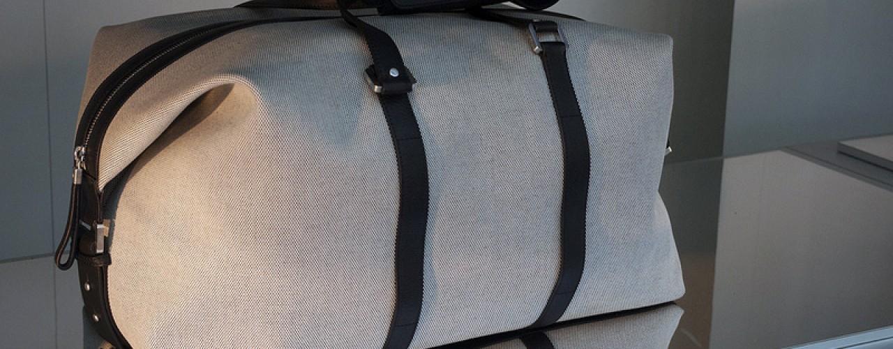 Bag at Cerruti in Paris. Photo by alphacityguides.
