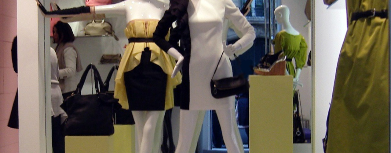 Fashion at Paule Ka in Paris. Photo by alphacityguides.