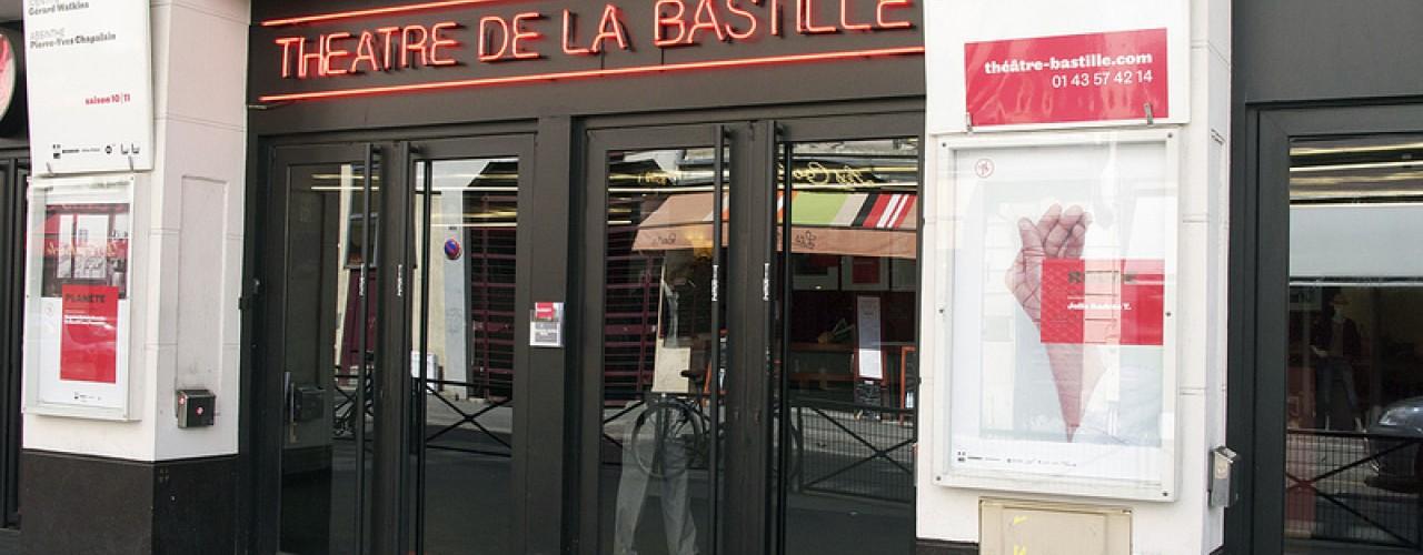 Theatre de la Bastille in Paris. Photo by alphacityguides.