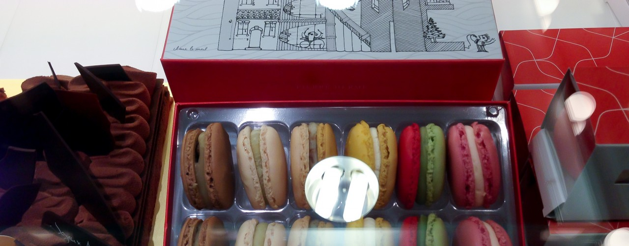 Macarons at Pierre Hermé in Tokyo. Photo by alphacityguides.