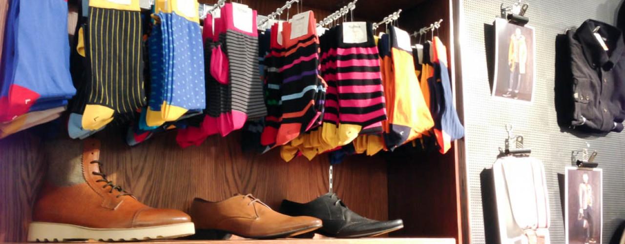 Ben Sherman socks in London. Photo by alphacityguides.